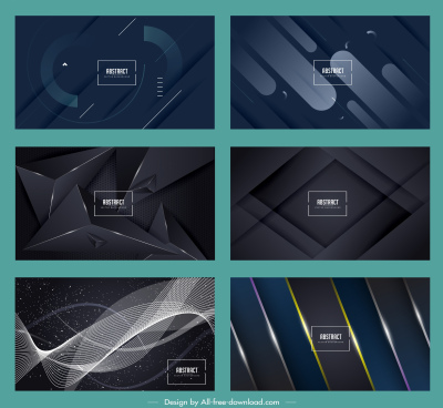 abstract background templates elegant modern dynamic geometric decor