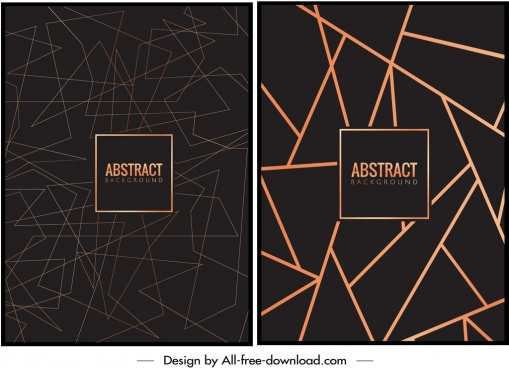 abstract background templates messy triangles sketch dark design