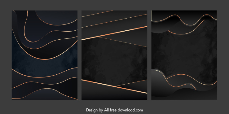 abstract background templates modern dark decor