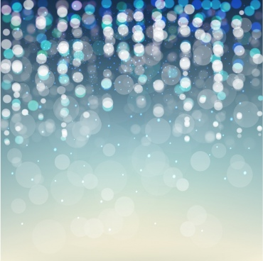 abstract background vivid bokeh light decoration