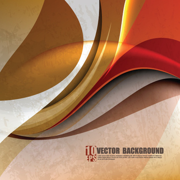 abstract background with garbage design vector