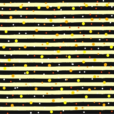 abstract background yellow dots horizontal stripes decor