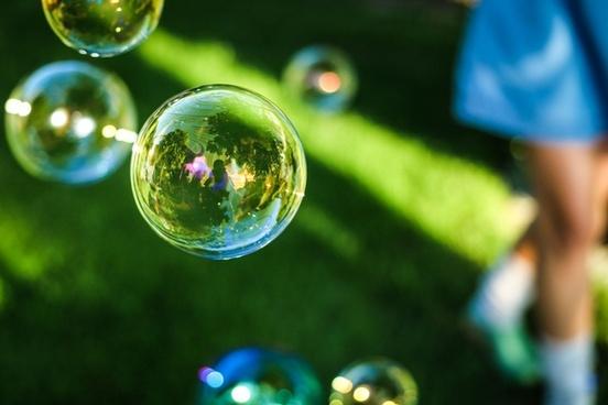 abstract ball bubble color drop earth environment