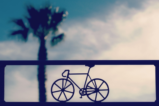 bicycle picture decorated outdoor