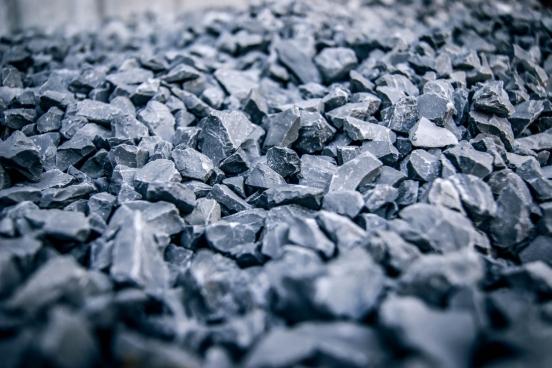 closeup of plentiful of small gravel on ground