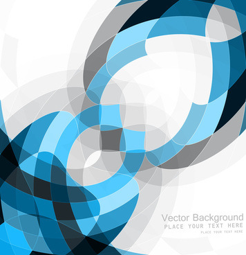 abstract blue colorful mosaic background texture vector illustration