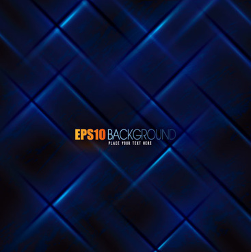 abstract blue grid background vector