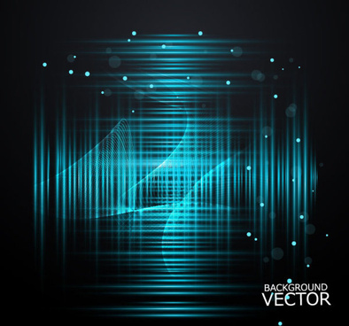abstract blue shiny background vector