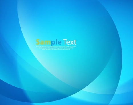 abstract blue smooth design vector illustration