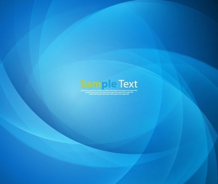 abstract blue smooth light design background vector illustration