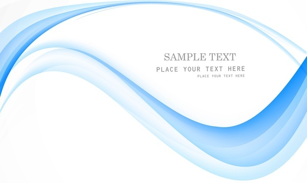 abstract blue technology stylish colorful wave vector