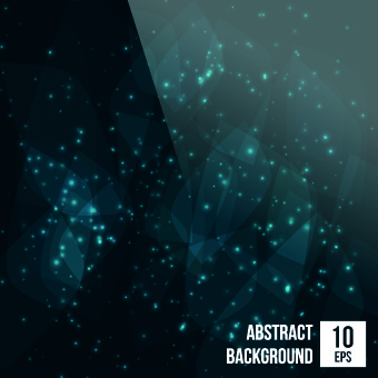 abstract bokeh shiny background vector