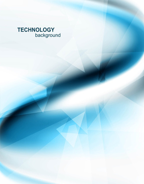 abstract bright blue business colorful technology wave background