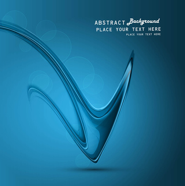 abstract bright blue colorful stylish recycle arrow vector