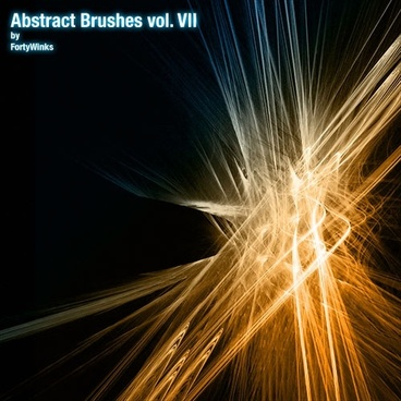 Abstract Brush Pack Vol. 7