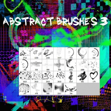 abstract brushes 3
