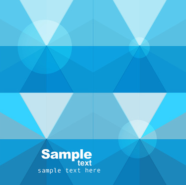 abstract business blue colorful technology background vector