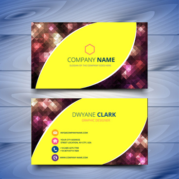 Corel draw business card background templates free vector download abstract business card design templates cheaphphosting Image collections