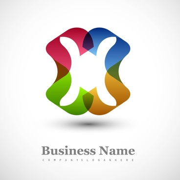 abstract business creative icon vector