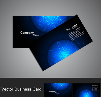 Computer Technology Business Card Free Vector Download 27180 Free