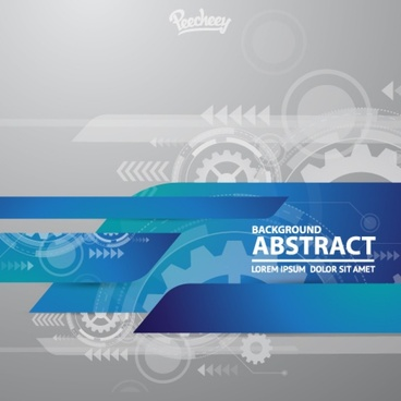 abstract cogwheels background