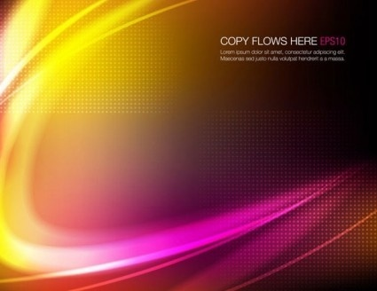 abstract color background shiny vector