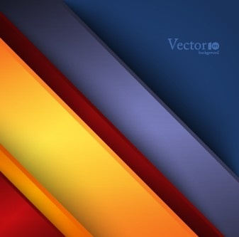 abstract color bar background vector