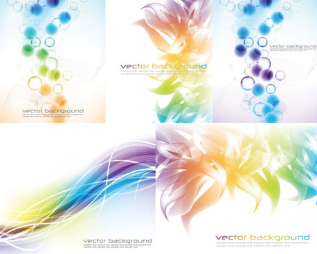 abstract colored background vector art