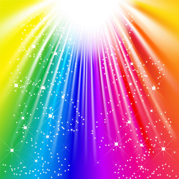 abstract colored light light