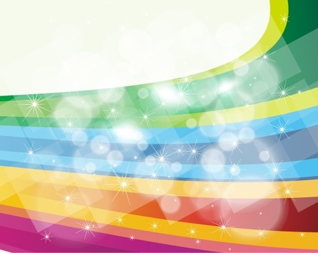 sparkling colorful background abstract bokeh and curves design