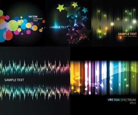 abstract colored the light background vector