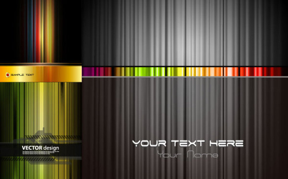 abstract colored vertical background vector