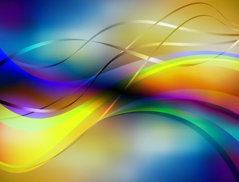abstract colorful background editable vector graphic