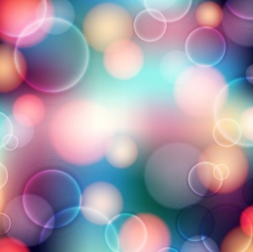 abstract colorful bokeh background vector graphic illustration
