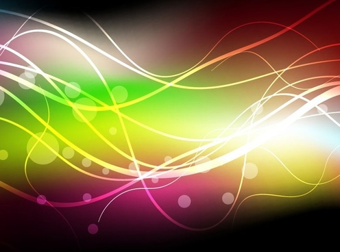 abstract colorful dark background vector graphic
