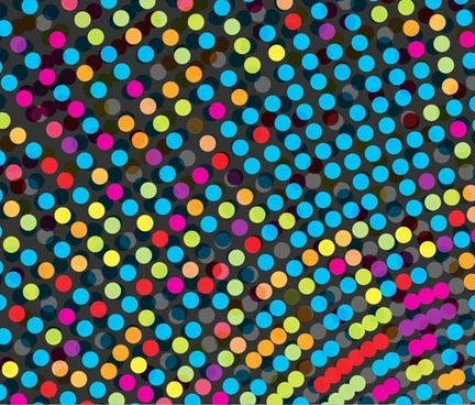 abstract colorful dots vector background