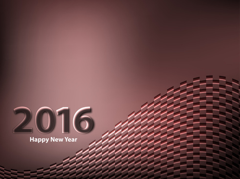 abstract colorful new year 2016 background