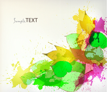 abstract colorful splash background