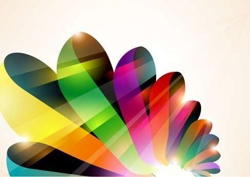 abstract colorful vector background part 2