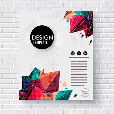 abstract cover brochure business vectors