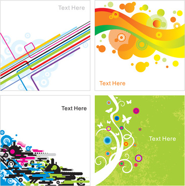 abstract creative color free vector backgrounds