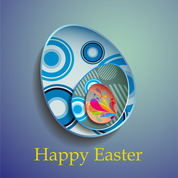 abstract decor easter egg