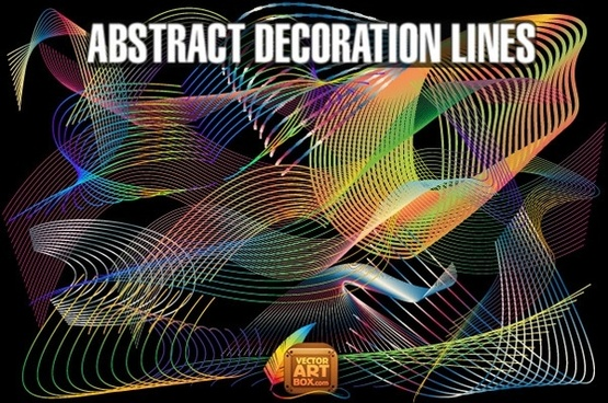Abstract Decoration Lines