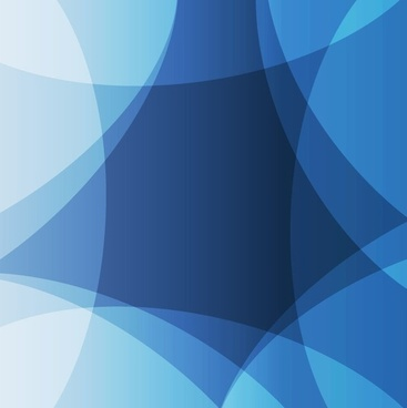 Abstract Design Blue Background Vector Graphic