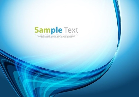 abstract design blue background vector illustration