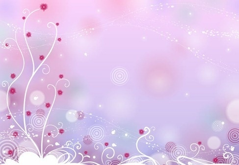 abstract design floral background vector