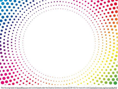 abstract dots vector artwork
