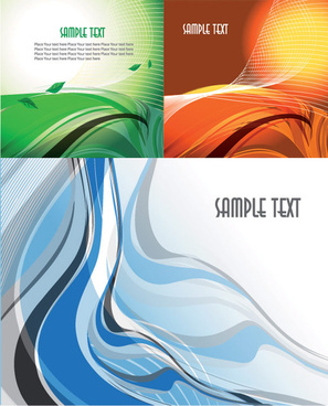 abstract dynamic lines of the background vector art