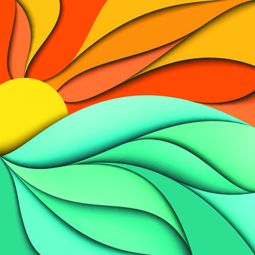 abstract fashion backgrounds vector set