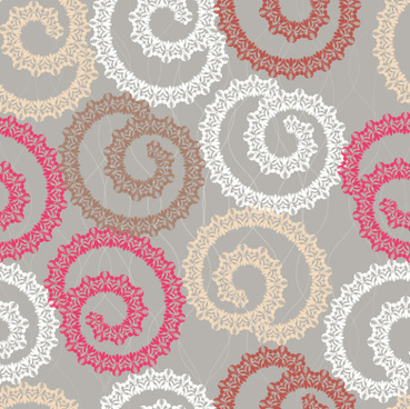 abstract floral of pattern vector